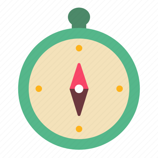 Camping, compass, direction, map, navigation, tool, travel icon - Download on Iconfinder