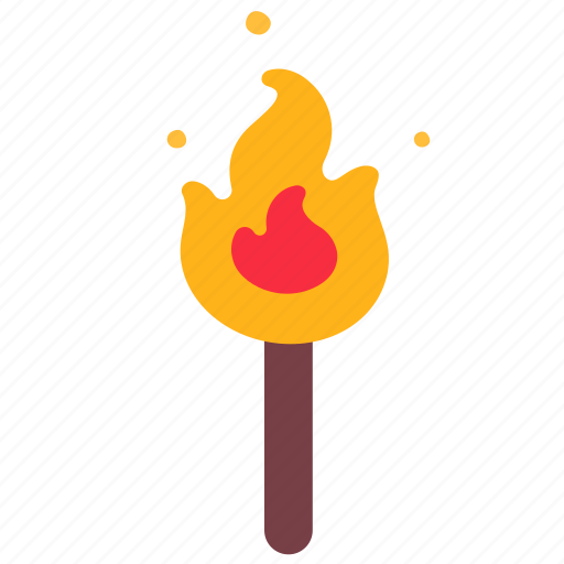 Bonfire, camp, camping, fire, light, outdoor icon - Download on Iconfinder