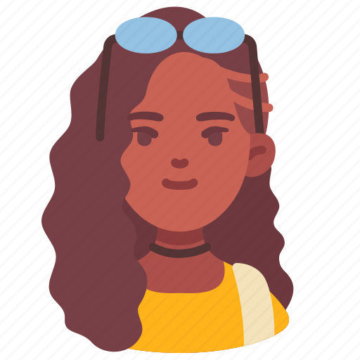 Avatar, backpacker, female, people, tourist, travel, woman icon - Download on Iconfinder