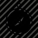 tool, transportation, compas icon