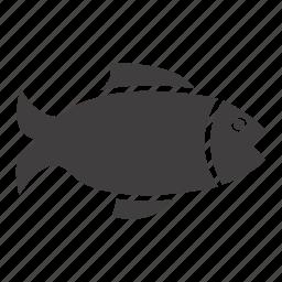 fish, fishing, salmon, seafood icon
