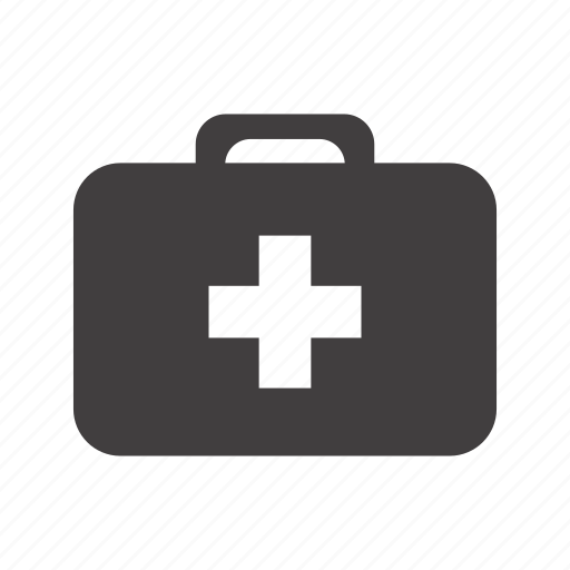 bag, case, cross, doctor, first-aid, kit, medicine icon