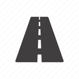 direction, journey, path, pathway, road, route, way icon