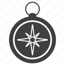 compass, direction, guide, navigation, navigator icon