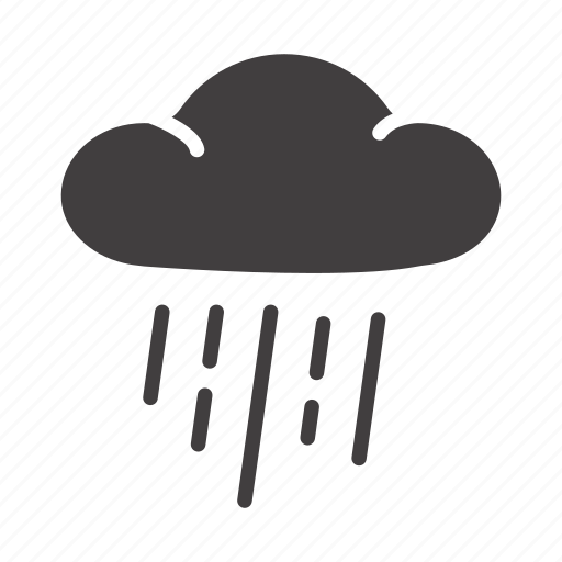 cloud, cloudy, overcast, pouring; drizzle, rain, rainy, showery icon