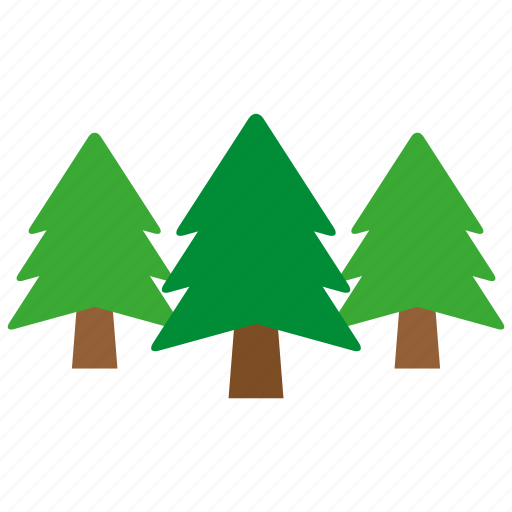 forest, green, nature, pine, plant, tree, trees icon