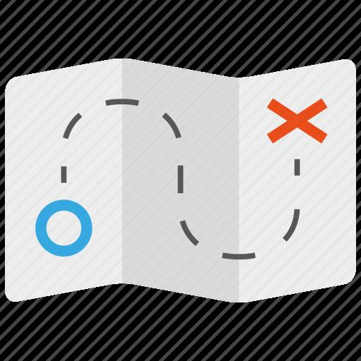 destination, location, map, marker, navigation, pin icon