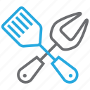 bbq, cooking, cutlery, spatula, tool icon