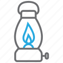 lamp, lantern, oil icon