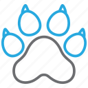 animal, dog, paw, pet icon
