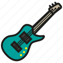 guitar, guitarist, instrument, music, play, sound icon