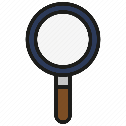 glass, magnifier, magnifying, search, zoom icon