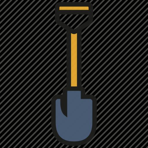 construction, gardening, shovel, spade, tool icon