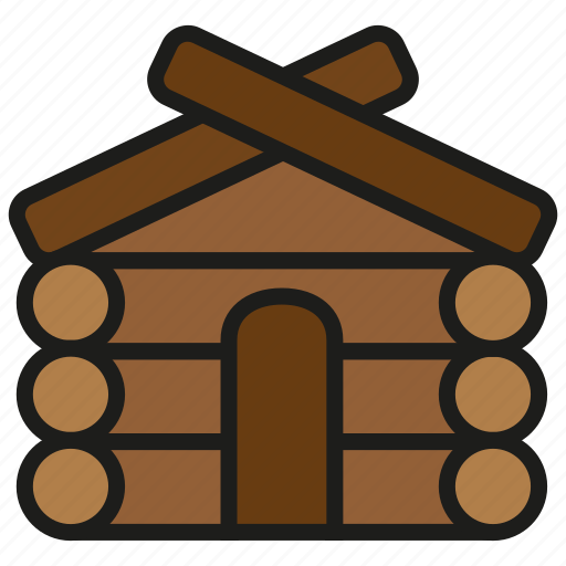 building, home, house, tree, wood, wooden icon