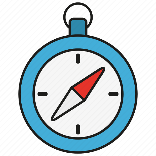 compass, direction, location, navigation, tool icon