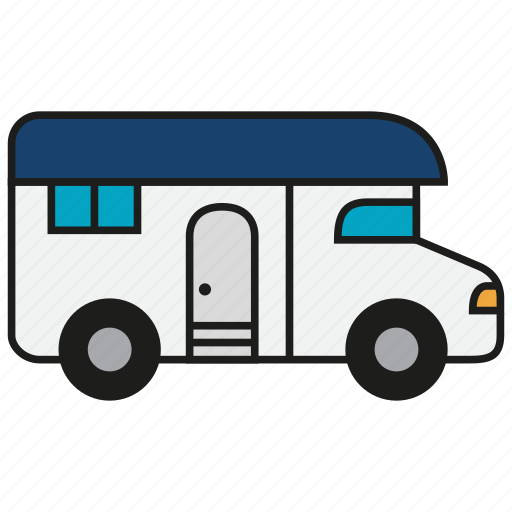 home, house, live, living, mobile, truck, vehicle icon