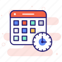 event, calendar, planning, appointment, booking, schedule icon