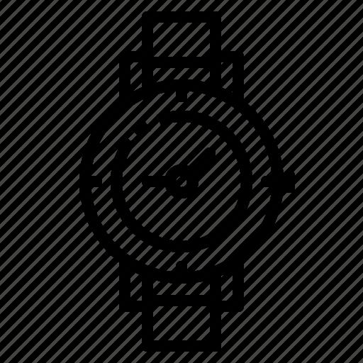 adventure, clock, compass, gps, watch icon