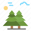 alpine, arctic, canada, pine, scandinavia, trees icon