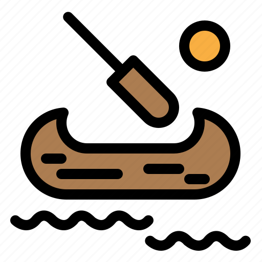 Boat, canada, kayak icon - Download on Iconfinder