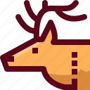 alpine, animal, arctic, canada, deer, mood, reindeer icon