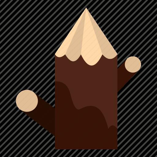bark, canada, cut, nature, stump, tree, wood icon