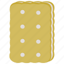 biscuit, cookie, vanilla icon