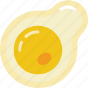 candy shop, egg, fried, store, sweet shop icon