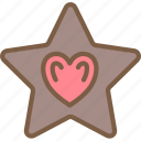 candy shop, chocolate, star, store, sweet shop icon
