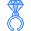 candy, candy shop, ring, store, sweet shop icon