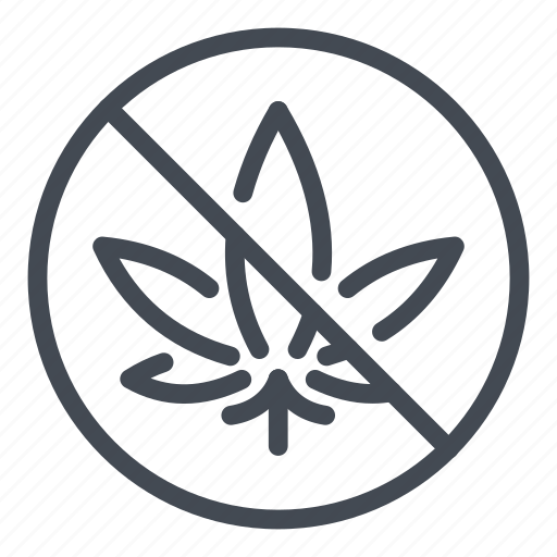 Against, cannabinoids, cannabis, marijuana, marijuanas, no icon - Download on Iconfinder