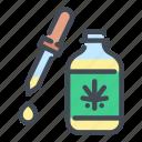 cannabis, marijuana, weed, oil, bottle, dropper, hemp