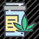 cannabis, marijuana, weed, hemp, medical, bottle, box