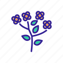 agricultural, agriculture, blossom, canola, field, flower, flowers icon
