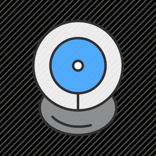 cam, camera, video, webcam icon