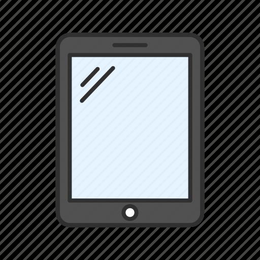 apple, gadget, ipad, tablet icon