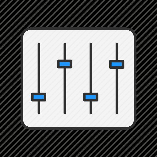 audio, audio board, music, system icon
