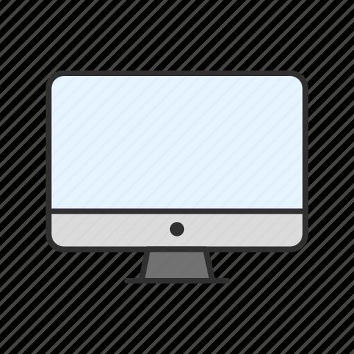 apple, computer, imac, monitor icon