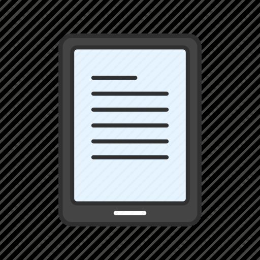 gadget, ipad, notebook, tablet icon