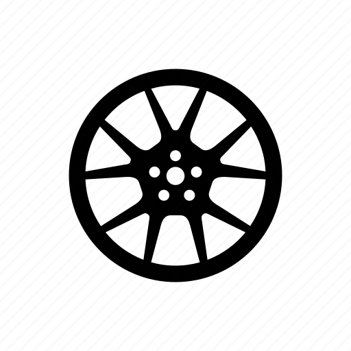 car, tire, tuning, wheel icon