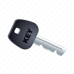 car, key, lock, secure, transport, transportation, vehicle icon