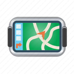 direction, gps, map, navigation, pin icon