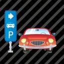 parking, auto, car, service, vehicle