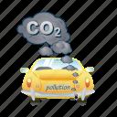 pollution, car, eco, ecology, energy, smoke