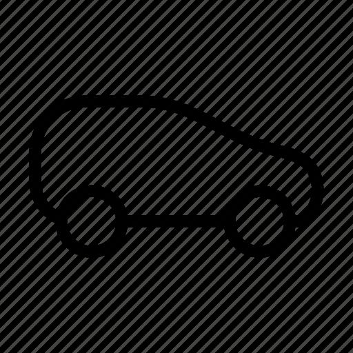 automobile, car, garage, rental, shop, small, vehicle icon