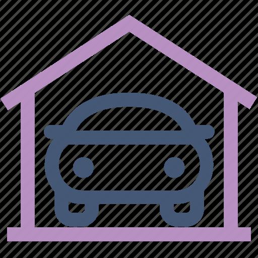 Auto, automobile, car, car wash, garage, parked icon - Download on Iconfinder