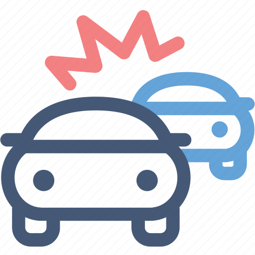 accident, car collision, car crash, collision, crash, dashboard, engine icon