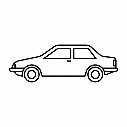 automobile, car, cars, sedan, vehicle icon