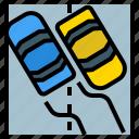 danger, dangerous, road, slip, snow, transport