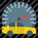 dashboard, drive, panel, speed, speedometer, transportation icon